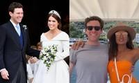 Chồng Công chúa Eugenie đi chơi du thuyền cùng vài phụ nữ khi vợ mới sinh con gần 6 tháng?