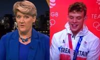 """Nam VĐV ở Olympic Tokyo choáng khi người phỏng vấn lỡ miệng khen """"cái chân thứ ba"""" của anh"""