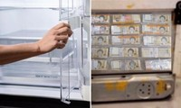 Mua tủ lạnh cũ trên mạng, một người Hàn Quốc phát hiện ra hơn 2 tỷ đồng giấu bên dưới tủ