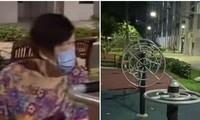 Singapore: Thiết bị tập thể dục ở sân chung cư tự chuyển động kỳ bí dù không có ai dùng