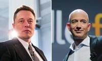 """""""Cuộc chiến"""" của 2 người giàu nhất thế giới: Elon Musk công khai """"mắng"""" Jeff Bezos cực gắt"""