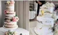 Đặt bánh cưới giá hơn 5 triệu, cô dâu thất vọng khi nhận được chiếc bánh khác xa ảnh mẫu