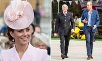 Hoàng tử William lại xuất hiện một mình, báo chí Anh càng thắc mắc về Công nương Kate