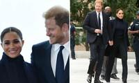 Vợ chồng Hoàng tử Harry - Meghan Markle cùng nhau dự sự kiện: Mỗi người một kiểu biểu cảm