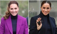 """Trang phục mới của Kate khiến dân mạng tranh luận: """"Học theo"""" Meghan hay theo Nữ hoàng?"""