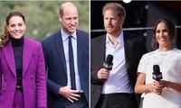 Fan của Harry - Meghan giận dữ với William - Kate vì tin cặp đôi đi bằng máy bay riêng