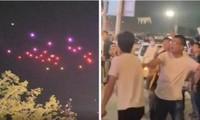 Drone rơi lả tả trong màn trình diễn ánh sáng ở Trung Quốc, khán giả sợ hãi chạy tán loạn