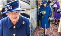 Nữ hoàng Anh chống gậy trong sự kiện mới khiến nhiều người quan tâm đến sức khỏe của bà