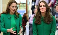 Công nương Kate được khen ngợi vì mặc lại áo cách đây 7 năm và vì một lý do đặc biệt nữa