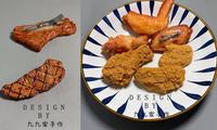 """Phụ kiện lan tỏa năng lượng cho những """"thực thần"""": Kẹp tóc thịt nướng, gà rán, cá viên"""