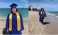 Tuổi tác chỉ là con số: Hóa ra nụ cười của mẹ trong lễ phục tốt nghiệp lại đẹp đến thế!
