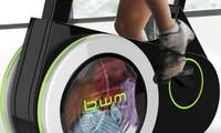 Xe đạp kèm máy giặt
