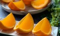 Cách làm thạch cam chống nóng
