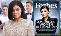 Kylie Jenner khẩu chiến với Forbes