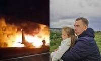 Con gái 7 tuổi của một nạn nhân vụ nổ máy bay ở Ukraine đã có linh cảm trước khi bố tử nạn
