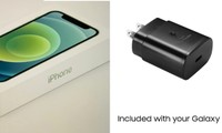 """Vừa thấy iPhone 12 không kèm theo cục sạc, Samsung không bỏ lỡ cơ hội """"troll"""" Apple ngay"""