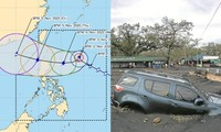 Siêu bão Goni vừa rời khỏi, áp thấp lại thành bão Siony, Philippines chìm trong căng thẳng