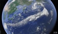 """Choáng váng với hình ảnh cái đuôi """"quái vật"""" của bão Vamco: Quét qua gần nửa vòng Trái Đất"""