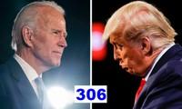 Sự trùng hợp kỳ lạ và khó tin về con số 306 trong kỳ bầu cử Tổng thống Mỹ năm 2016 và 2020