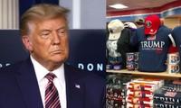Tổng thống Trump chưa chịu nhượng bộ nhưng cửa hàng quà tặng của Nhà Trắng thì lại khác