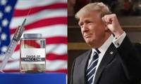 """Tổng thống Trump nhận hết công về vắc-xin COVID-19, mọi người bảo """"nhầm nhưng cũng tốt"""""""