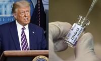 Bất công cho Tổng thống Trump: Ai muốn tiêm vắc-xin cũng được khen, đến lượt ông thì không