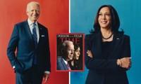 """Vượt qua Tổng thống Trump, ông Joe Biden và bà Kamala Harris trở thành """"Nhân vật của năm"""""""