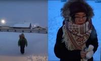Trường học lạnh nhất thế giới: Học sinh chỉ được nghỉ khi nhiệt độ giảm sâu dưới mức này