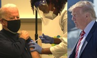 Sau khi tiêm vaccine COVID-19, ông Joe Biden nói câu mà Tổng thống Trump cũng không ngờ