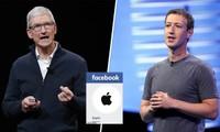 """""""Đại chiến Thung lũng Silicon"""": Facebook """"ra đòn"""" mới, hủy dấu tích xanh của trang Apple"""