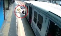 Cảnh sát cứu người thoát nạn trong gang tấc nhưng hành động sau đó lại cực bất ngờ