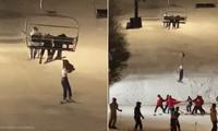 Ác mộng trên cáp treo: Cô gái 14 tuổi rơi khỏi ghế cáp, treo mình lơ lửng giữa không trung