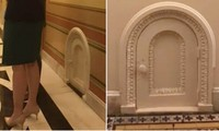 Có những cánh cửa nhỏ xíu bí ẩn xung quanh Điện Capitol, đằng sau chúng là gì vậy?