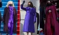 Trang phục tím tràn ngập trong Lễ Nhậm Chức của Joe Biden - Kamala Harris, tại sao vậy?