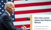 """""""Thông điệp bí mật"""" trên trang web Nhà Trắng sau khi ông Joe Biden nhậm chức Tổng thống Mỹ"""
