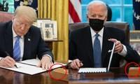 """Tân Tổng thống Biden đưa """"cái nút đỏ trứ danh"""" trở lại bàn làm việc, còn có cái nút thứ 2?"""