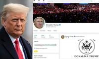 """Cựu Tổng thống Trump chưa hề """"tái xuất"""" mạng xã hội, tại sao nhiều nguồn tin đã nhầm lẫn rằng ông đăng bài?"""