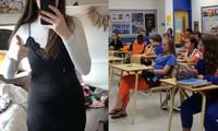 Chỉ vì mặc váy có viền ren đi học, nữ sinh lớp 12 bị mời về nhà còn cả lớp có phản ứng bất ngờ