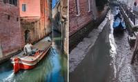 Người dân Venice giật mình khi thấy kênh đào khô queo sau một đêm, chuyện gì đang xảy ra?