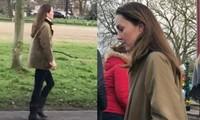 Công nương Kate bất ngờ xuất hiện một mình, nhưng vì sao không ai hỏi cô về chuyện Meghan?