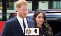 """Vừa từ bỏ logo Hoàng gia, Meghan - Harry đã bị tố """"đạo nhái"""" thiết kế logo công ty mình"""
