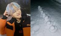 """""""Bật mí"""" công cụ giúp RM (BTS) và nhiều bạn trẻ xứ Hàn tạo nên được đàn vịt tuyết cute"""