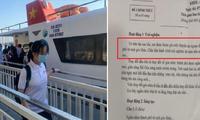 """Hình thức thi Văn """"lạ"""" ở TP.HCM: Học sinh được du ngoạn trên tàu cao tốc để ngắm thành phố"""