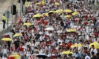Số người biểu tình ở Hong Kong được cho là cao ở mức kỷ lục trong 15 năm qua