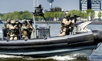 Thủy quân lục chiến Anh. Ảnh: AFP