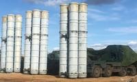 Hệ thống phòng thủ tên lửa S-400. Ảnh: Bộ quốc phòng Nga