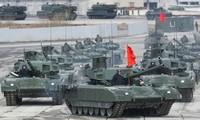 Xe tăng T-14 Armata do Nga sản xuất. Ảnh: TASS