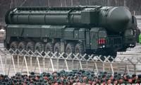 Tên lửa đạn đạo liên lục địa Topol-M của Nga. Ảnh: Rianovosti