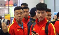 U23 Việt Nam sang Hàn Quốc tập huấn lúc nửa đêm