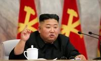 Bản tin của KCNA đưa ra đánh dấu sự xuất hiện đầu tiên của nhà lãnh đạo Kim Jong Un sau khoảng ba tuần vắng bóng. Ảnh: KCNA.